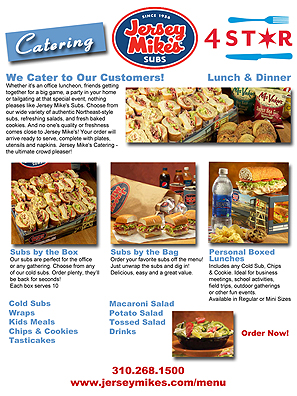 Jersey Mikes Restaurant